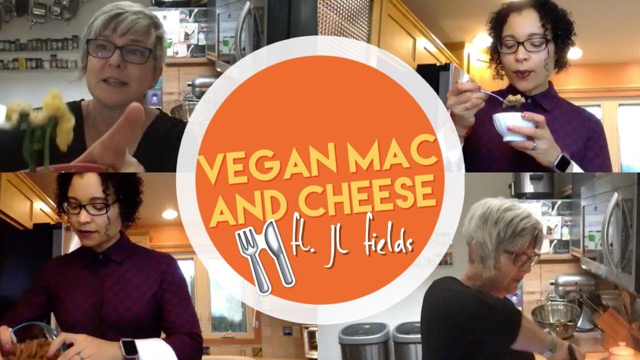 COOKING WITH JL FIELDS: Soy Curl Mac n Cheese | @veggiefitkids