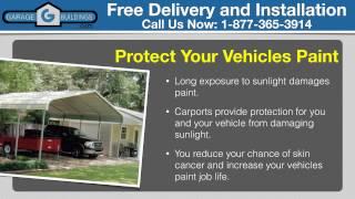 Alexandria Steel Carports | Virginia Steel Carport