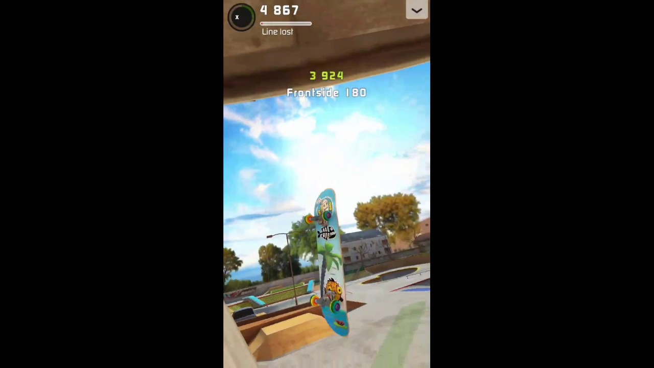Touchgrind Skate 2: How to do 180 tricks FLAT!! - YouTube