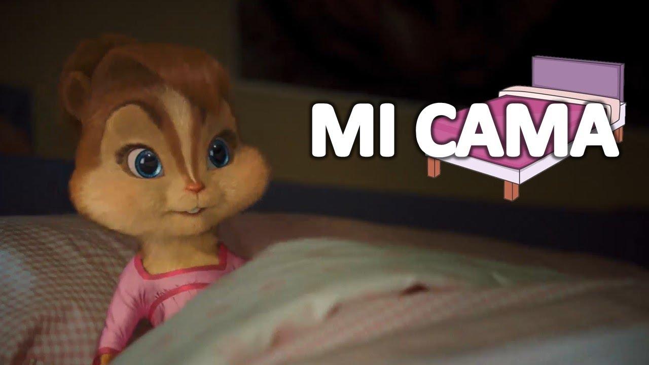 KAROL G - Mi Cama   Alvin y las Ardillas