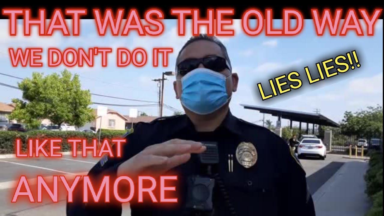COPS LIE TO US & EXPECT OUR TRUST SMH, 1ST AMENDMENT AUDIT