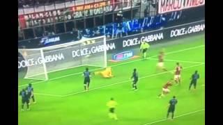 ミラン 1-0 インテル メネス ゴール☆2014/11/24 Milan Inter Menez