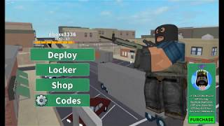 First time playing Arsenl a Roblox Gun game