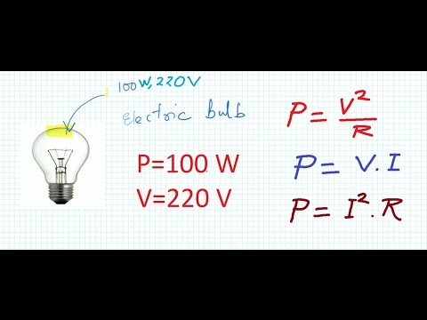 4. Rating of Electrical Appliance and Calculation of Electrical parameters