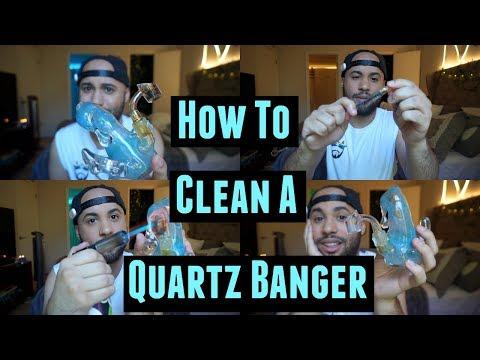 How To Clean A Quartz Banger / Harvesting Reclaim Dabs