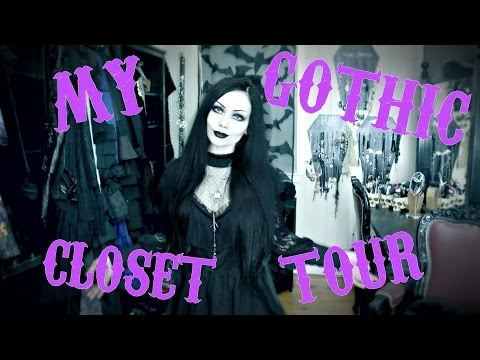 My Gothic Closet Tour 2017    ReeRee Phillips