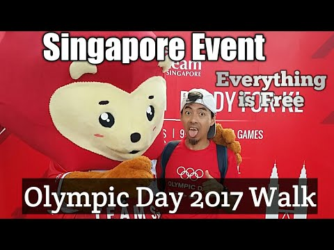 Singapore Free Event 2017 Olympic Day Walk