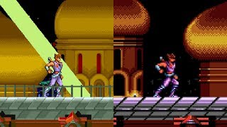 Strider - All versions gameplay HD
