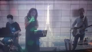 Biết Nói Gì Đây - Saly - 26/06/2016 Au Bussy Live - Guitar Thanh Liêm - Keyboard Văn Hiển