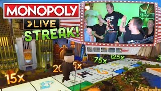Winning Streak on Monopoly Live! (One of very few)