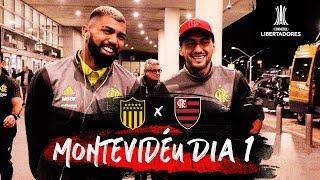 Com a presença de Leandro, Flamengo embarca para Montevidéu