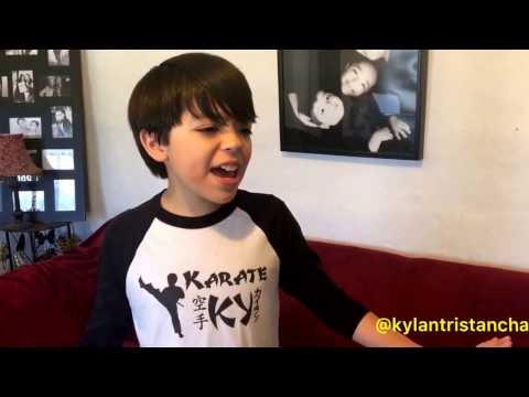 NKOTB Please don't go girl cover - Kylan Tristan Chait