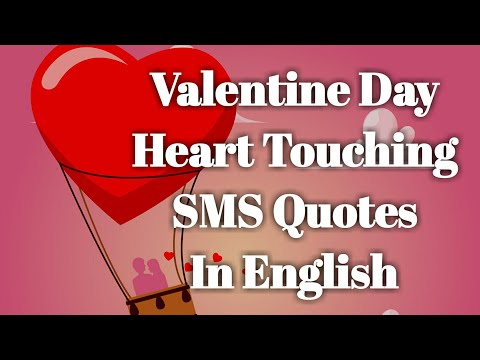 Valentine Day SMS Quotes in English