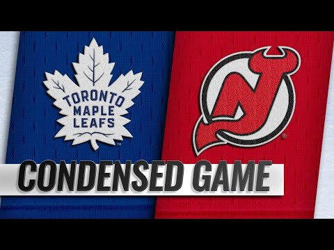 01/10/19 Condensed Game: Maple Leafs @ Devils