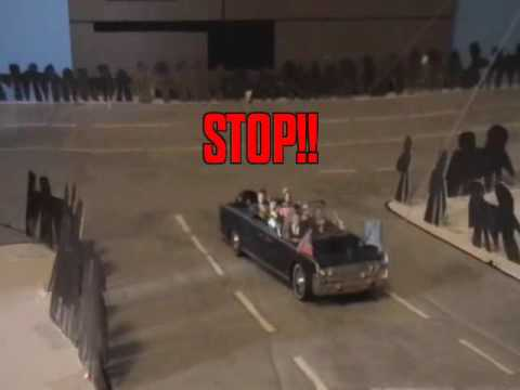 JFK's Limo STOPPED TWICE: MISSING ZAPRUDER FOOTAGE!