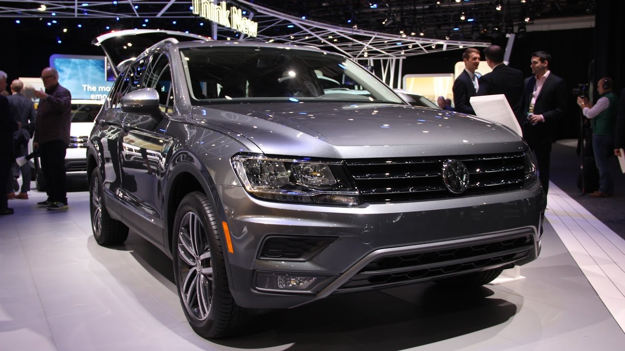 Volkswagen Tiguan First Look Detroit Auto Show YouTube - Car show detroit 2018