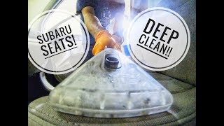 DIRTY CLOTH SEATS - HOW TO DEEP CLEAN - step by step!
