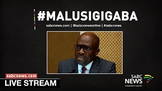vuclip Malusi Gigaba appears before Parliament's Home Affairs Portfolio Committee