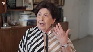 """דבורה ברגר בעדותה על חיי התרבות בגטו לודז' מתוך הסרט """"המשכיות בתוך השבר – סיפורה של דבורה ברגר"""""""