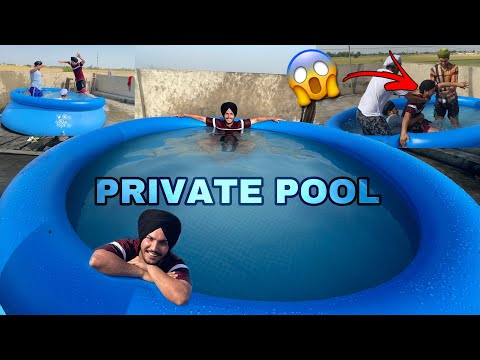 Bought a Swimming Pool in Just Rs:- 6** /-  😱 *TOTALLY WORTH* Fun Gone Wrong
