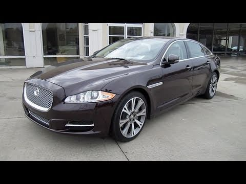 2011 Jaguar XJL/XJL Supercharged Start Up, Exhaust, And In Depth  Tour/Review   YouTube