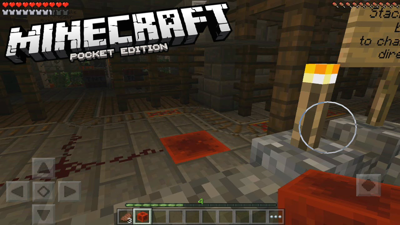 Download Minecraft PE 0.13.0 MOJANG REDSTONE MANSION MAP GAMEPLAY! - Download (Pocket Edition)