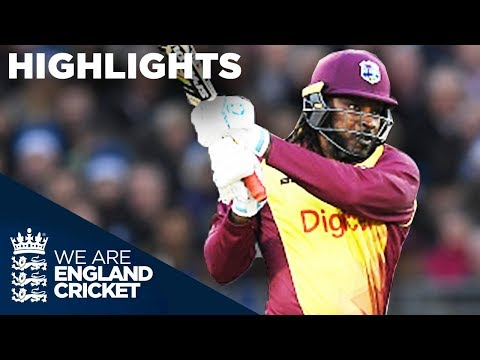 Huge Hitting From Gayle And Hales In Durham - Highlights - England V West Indies - T20 2017