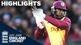 vuclip Huge Hitting From Gayle And Hales In Durham | England v West Indies IT20 2017 - Highlights
