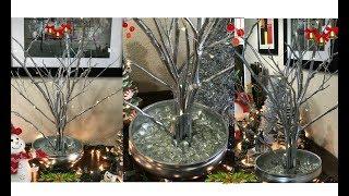 Árbol Navideño  hecho en casa/Branches DIY Decor