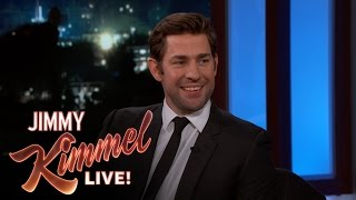 John Krasinski Has Started Cooking for Emily Blunt
