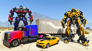 TRANSFORMERS!! (GTA 5 Mods)(Transformers GTA 5 mods with Typical Gamer! Optimus Prime and Bumblebee Transformers GTA 5 mods! ▻ Watch the GTA 5 Spiderman mod here!, 2017-02-19T00:19:44.000Z)