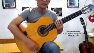 (Học guitar) Bài 20: Tập chơi guitar có cảm xúc