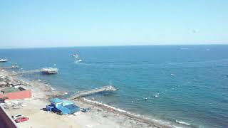 Anitas Hotel ТурцияКонаклы Обзор с номера с балкона на басейн и на море