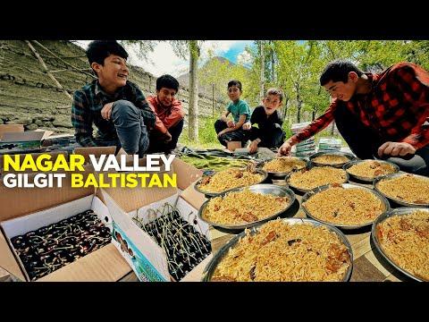 Yak Pulao in Nagar Valley | Baltit Fort & Cherry Garden, Gil