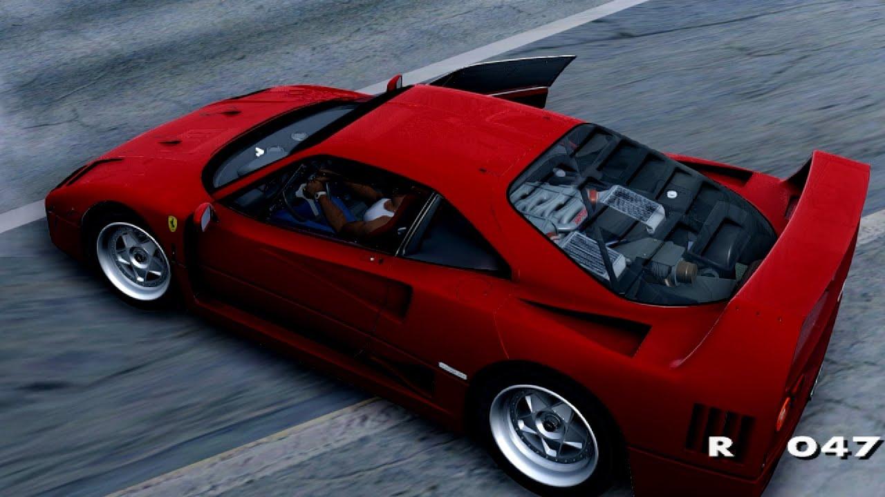 Ferrari f40 1987 gta san andreas youtube ferrari f40 1987 gta san andreas vanachro Choice Image
