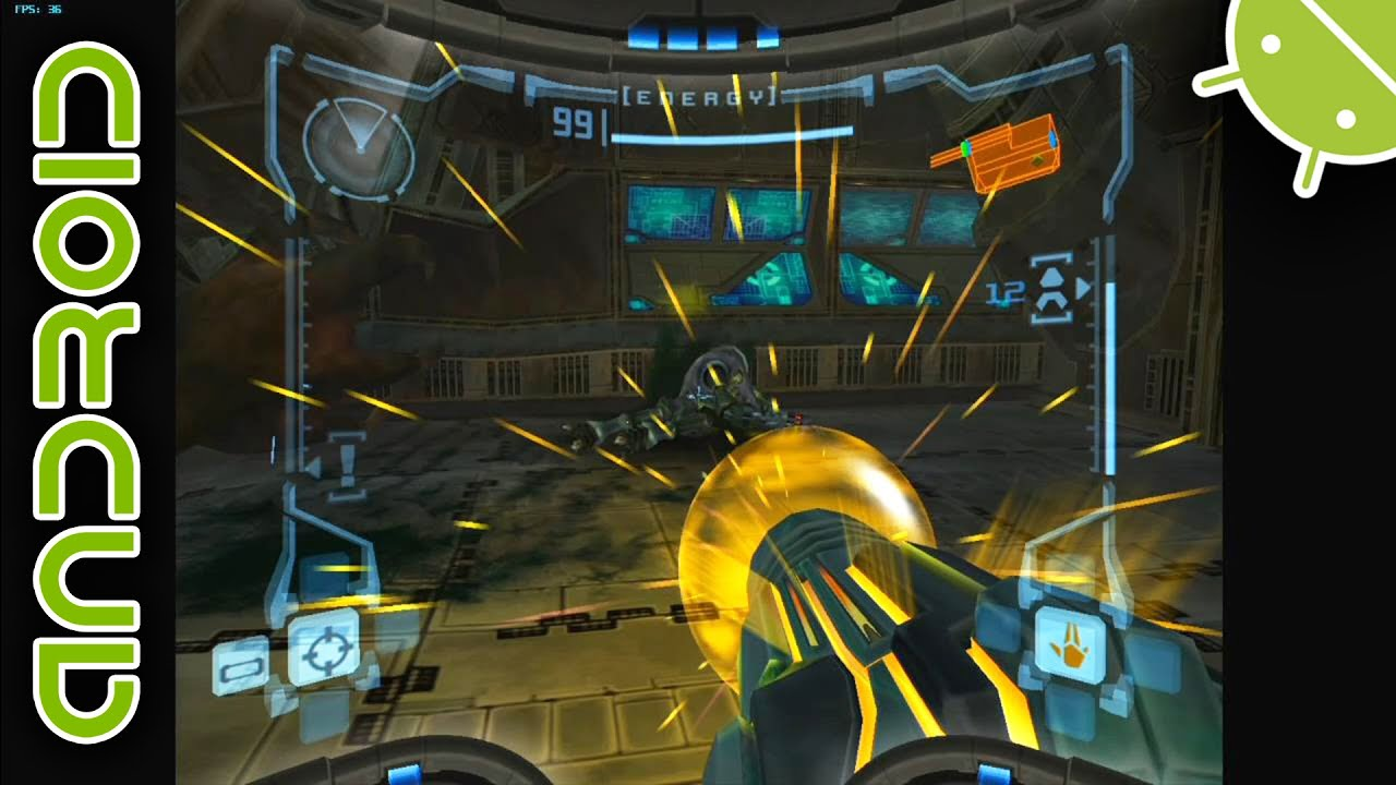 metroid prime android settings