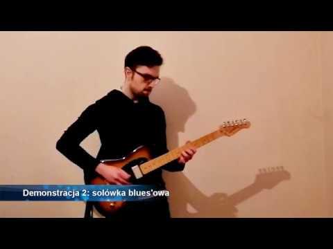 Demonstracja 2: solówka bluesowa