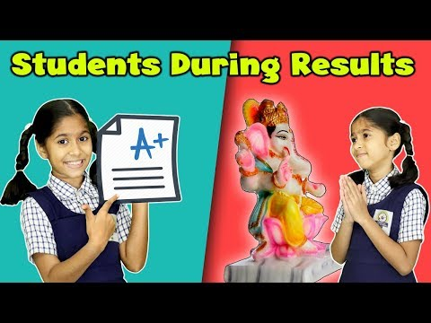Types Of Students During Exam Result | Funny Video | Pari's Lifestyle Moral Story