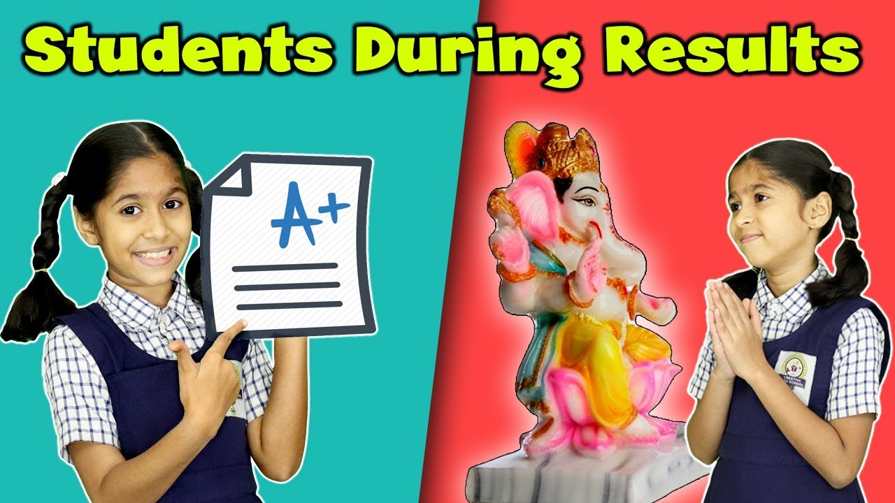 Types Of Students During Exam Result   Funny Video   Pari's Lifestyle Moral Story