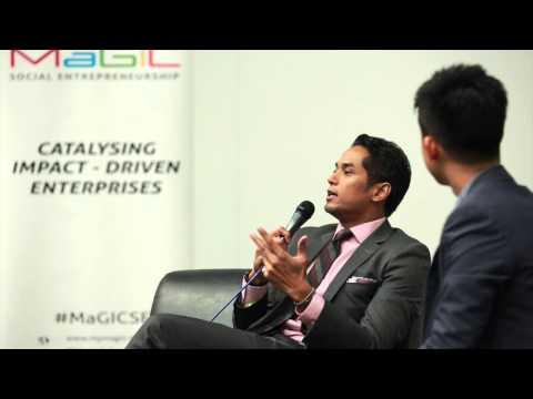 [MaGIC Social Entrepreneurship] Wise Word With : YB Khairy Jamaluddin