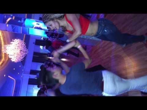 La Alemana and Phillip Lee  at salsa heat social