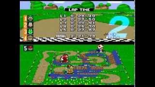 Super Mario Kart Custom tracks - Special Cup