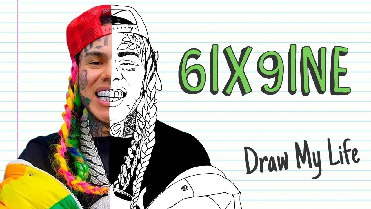 6IX9INE | Draw My Life