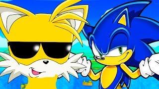 СОНИК И ТЕЙЛЗ   КРУТЫЕ БРАТКИ   Sonic Adventure DX   13
