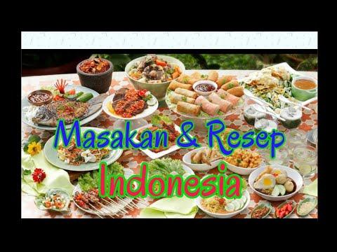 Masakan #Resep #Makanan Nusantara Indonesia - YouTube