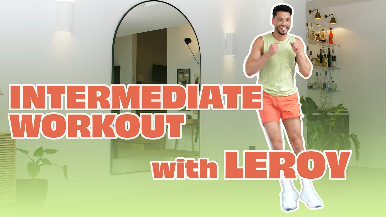 NEW!!! Intermediate Full Body Workout | Train With Leroy 🔥
