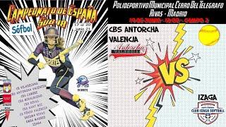 CBS ANTORCHA VALENCIA  vs IZAGA  - 12:00 - GRUPO B - FASE CLASIFICACIÓN