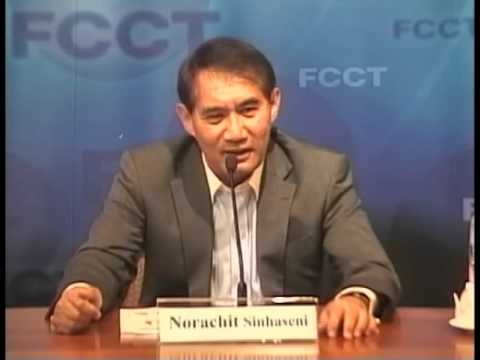 FCCT - In Defence of Thailand's New Constitution - CDC Spokesman Norachit Sinhaseni