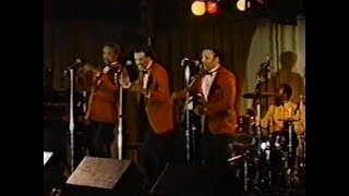 "The Cleftones -  ""Little Girl Of Mine""  Live - 1989"