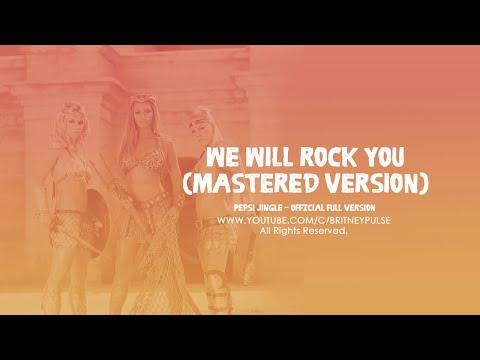 Britney Spears, Beyoncé & P!nk - We Will Rock You (Pepsi Gladiators Sound Track Remix)